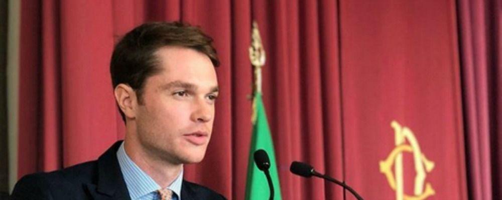 Marco Cartasegna da Uomini e donne al Parlamento per parlare di cyberbullismo