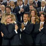 Simona Ventura e Alessia Marcuzzi, pace fatta a Le Iene nel ricordo di Nadia Toffa