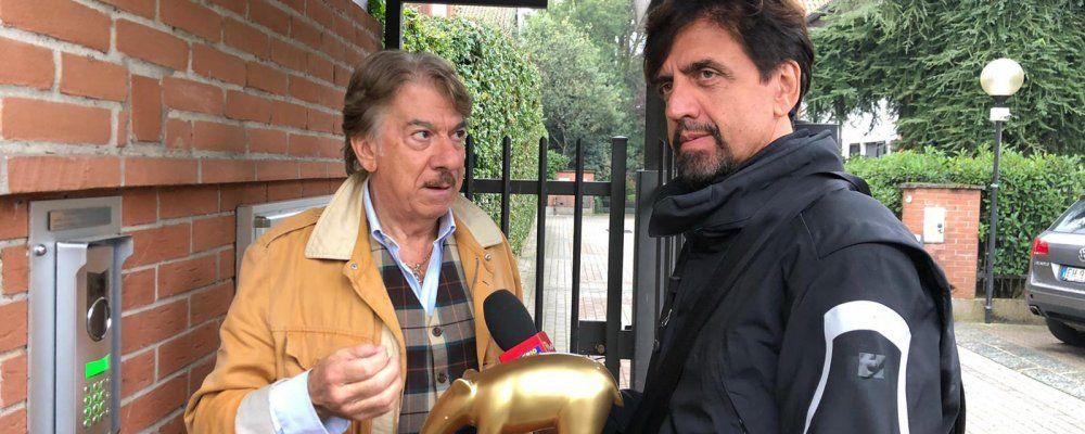 Striscia, tapiro a Marco Columbro per la lite con Barbara d'Urso: 'Mi sono sentito usato'