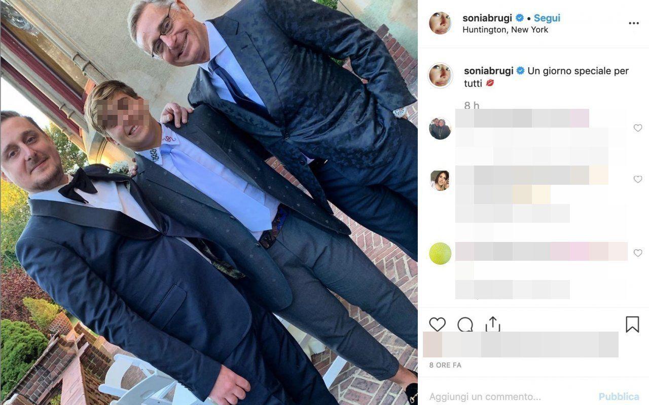 Paolo Bonolis, il figlio Stefano si è sposato con l'americana Candice Hansen