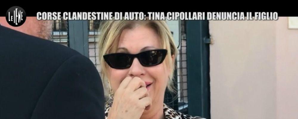 Scherzo a Tina Cipollari alle Iene: il figlio coinvolto nelle gare clandestine e lei lo denuncia