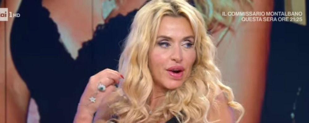 Valeria Marini presenta il nuovo fidanzato a Vieni da me: ecco chi è