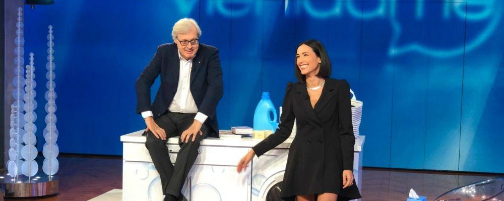 'Le donne a casa': è bufera su Vittorio Sgarbi e Caterina Balivo