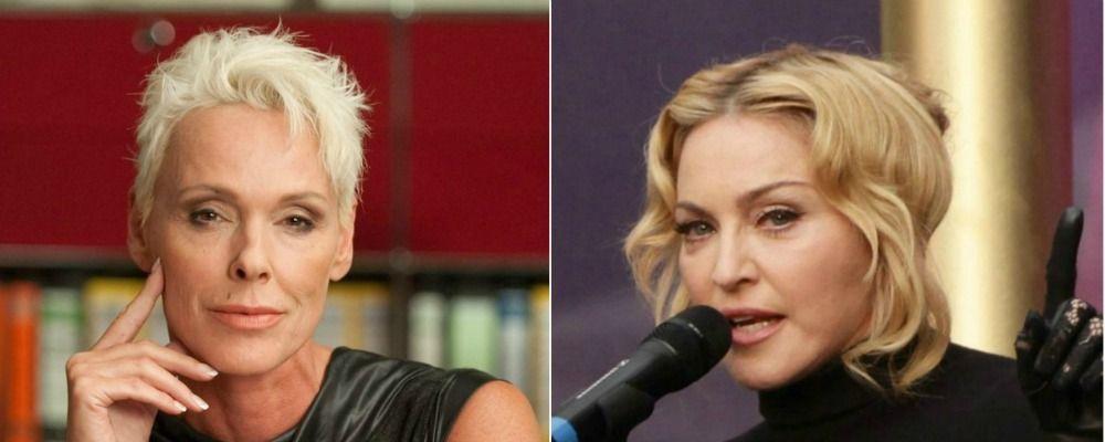 Brigitte Nielsen si vendica di Madonna: 'Ho passato la notte con Sean Penn'