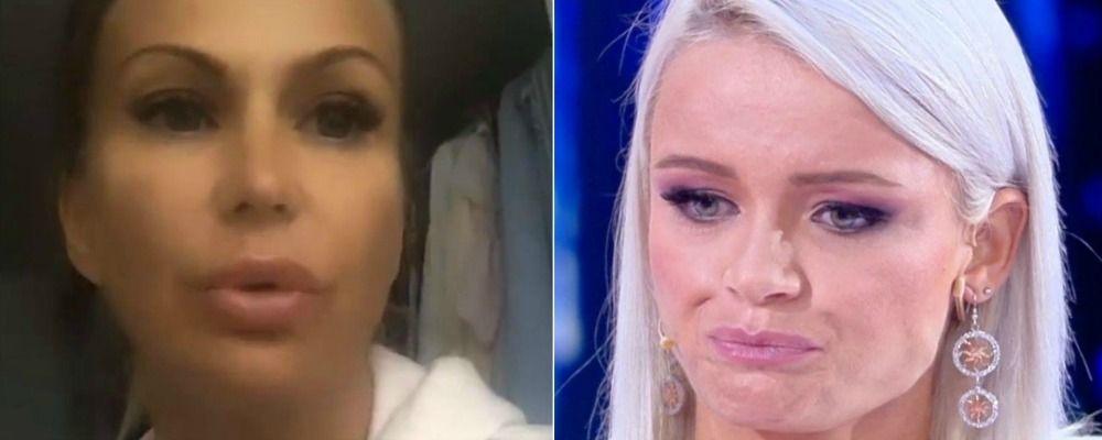 Eva Henger contro la figlia: 'Mercedesz sei caduta in basso, Riccardo è morto una seconda volta'