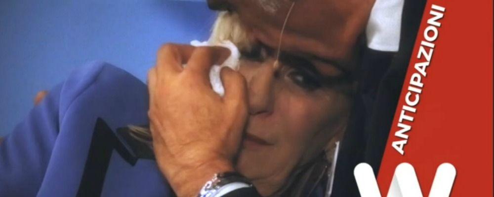 Anticipazioni trono over Uomini e donne: Gemma Galgani in lacrime per Juan Luis