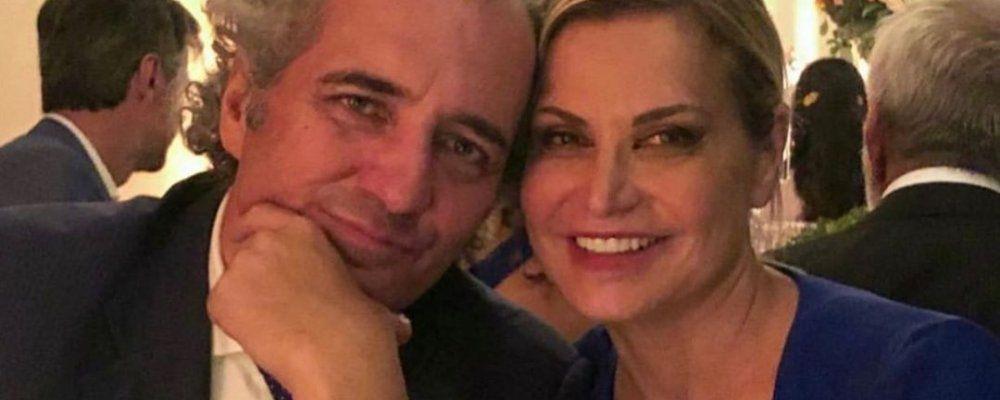 Matrimonio Simona Ventura, l'ex marito Stefano Bettarini testimone di Giovanni Terzi