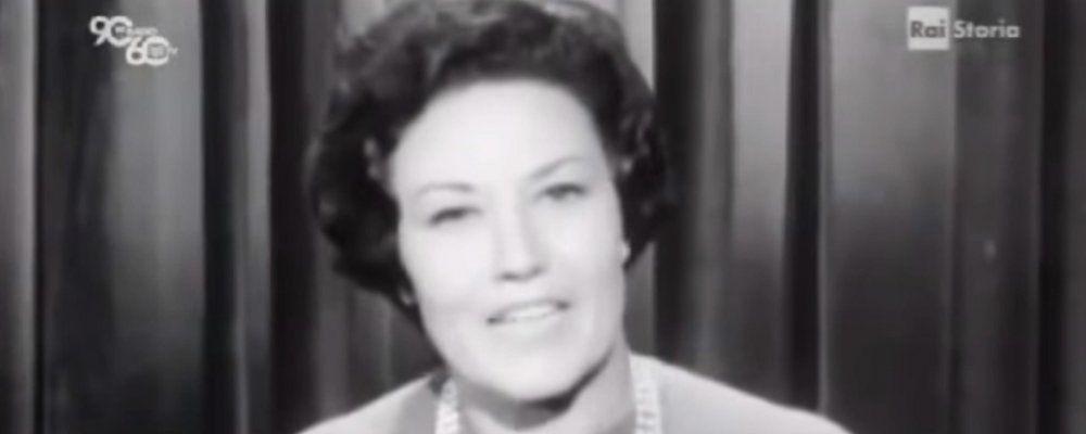 È morta Elda Lanza, la prima presentatrice della tv