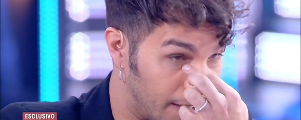 Live, Marco Carta in lacrime per la lettera del fidanzato Sirio dopo la sentenza