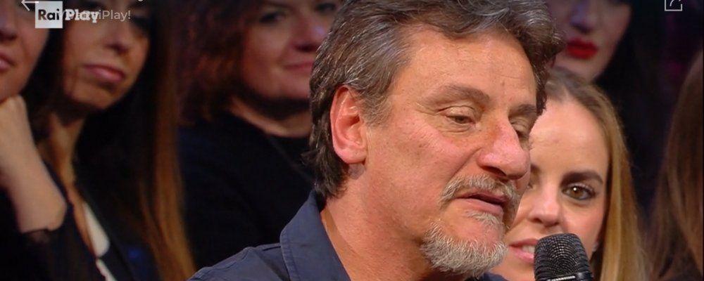 Giorgio Tirabassi da Fiorello, il ritorno in tv dopo l'infarto
