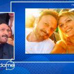 Vieni da me, Totò Schillaci sulla moglie Barbara Lombardo: 'Ho trovato la persona giusta'