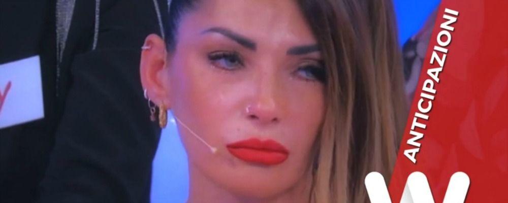Anticipazioni Uomini e donne trono over, Ida Platano in lacrime senza Riccardo Guarnieri