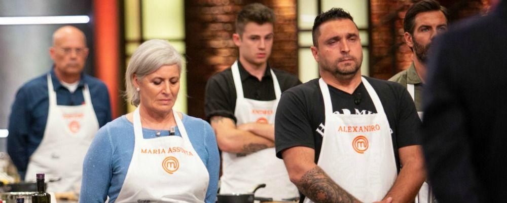 Masterchef Italia 9 terza puntata, il furto di Maria Assunta eliminata insieme ad Alexandro