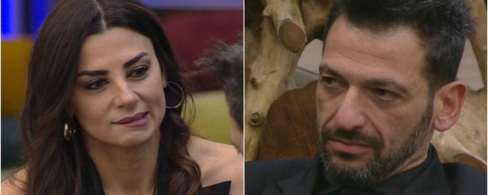 Grande Fratello Vip 2020, seconda puntata: il faccia a faccia tra Pago e Serena Enardu