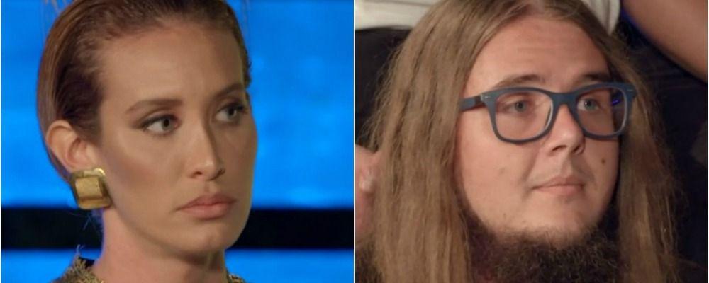 La pupa e il secchione quarta puntata, Stella Manente insultata da Dario Massa: 'Sei stupida'