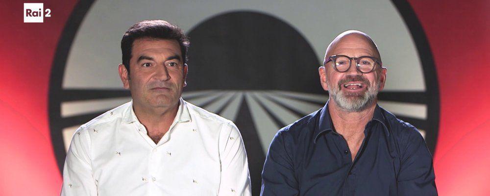 """Pechino Express 2020, Max Giusti e Marco Mazzocchi: """"Ma quali Gladiatori? Noi andiamo forte negli over 75"""""""