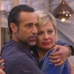 Grande Fratello Vip, Antonella Elia rivede il fidanzato Pietro Delle Piane dopo il presunto tradimento
