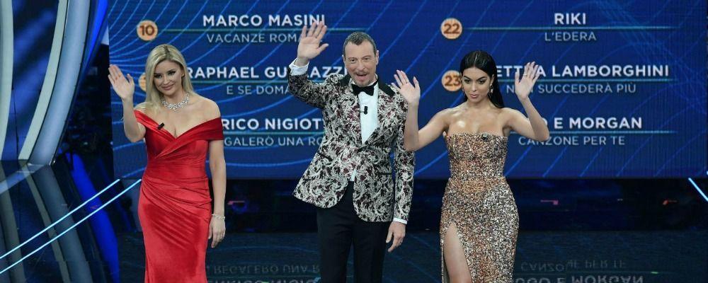 Sanremo 2020, ascolti terza serata: share vola al 54.5%