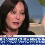Shannen Doherty, il cancro è tornato: 'È al quarto stadio'