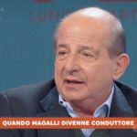 La settimana Ventura, Giancarlo Magalli: 'Adriana Volpe mi spara addosso? Sono piccolo mi scanso'