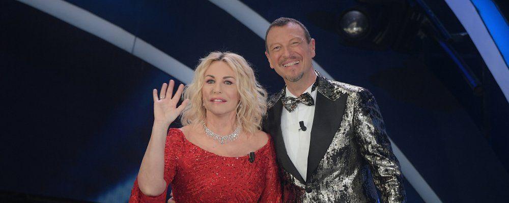 Sanremo 2020, la gaffe di Antonella Clerici sui genitori di Amadeus
