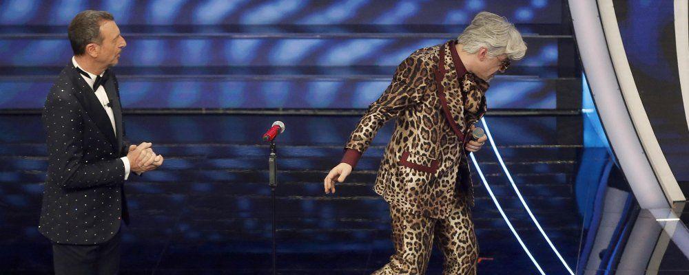 Sanremo 2020: Morgan cambia testo, Bugo abbandona il palco. Squalificati