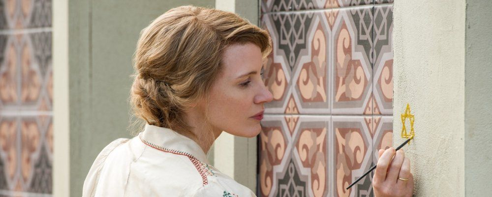 La signora dello zoo di Varsavia: trama, cast e curiosità del film con Jessica Chastain