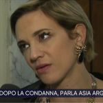 """La Vita in Diretta, Asia Argento: """"Fiera di aver denunciato Weinstein"""""""