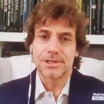 Coronavirus, il video messaggio da casa di Alberto Angela in apertura di Una notte a Venezia