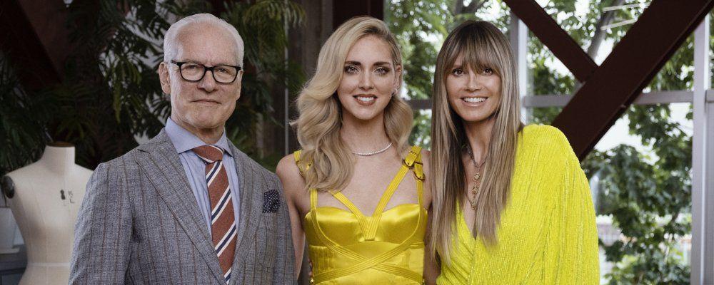 Making the Cut, in streaming il talent per stilisti con Heidi Klum: giudica Chiara Ferragni