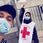 Coronavirus, Raoul Bova e Rocio Munoz Morales volontari per la Croce Rossa a Roma