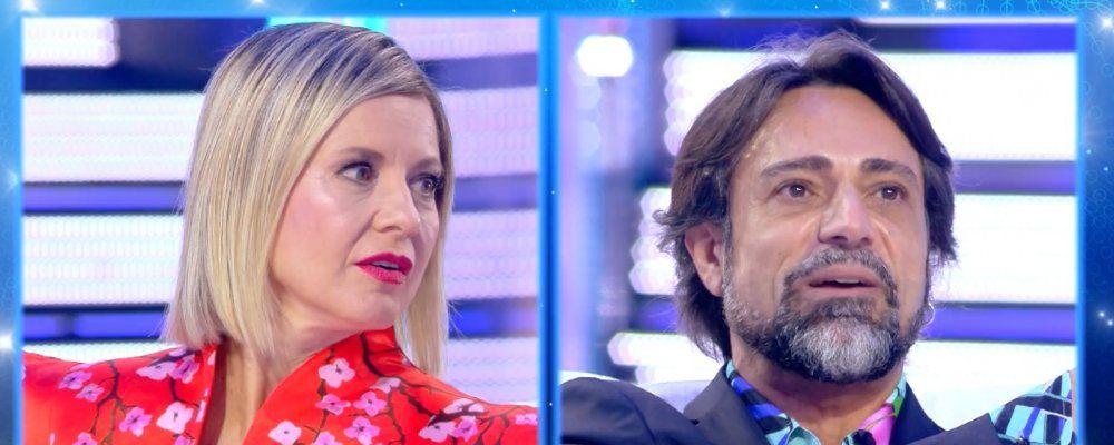 Live, Pietro Delle Piane interrotto durante la proposta di matrimonio ad Antonella Elia