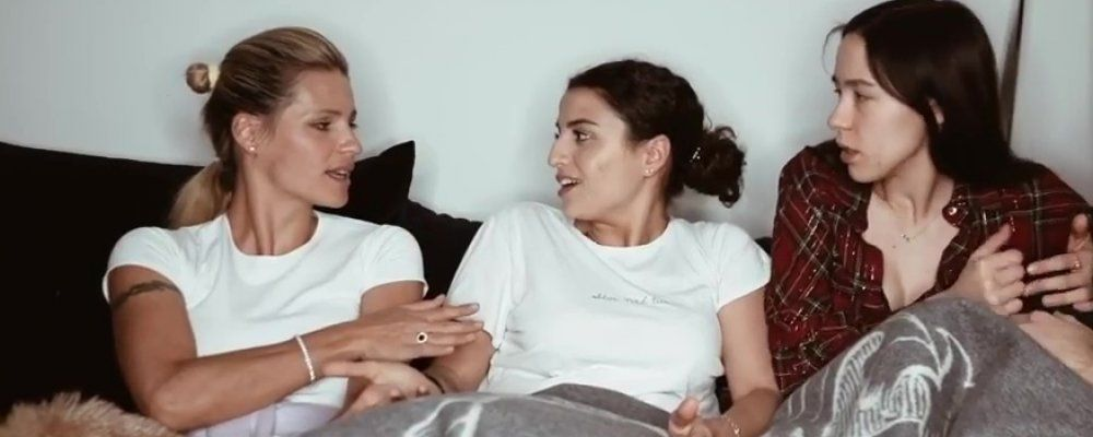 Michelle Hunziker in quarantena con Sara Daniele, figlia di Pino: 'Non potevo lasciarla sola'