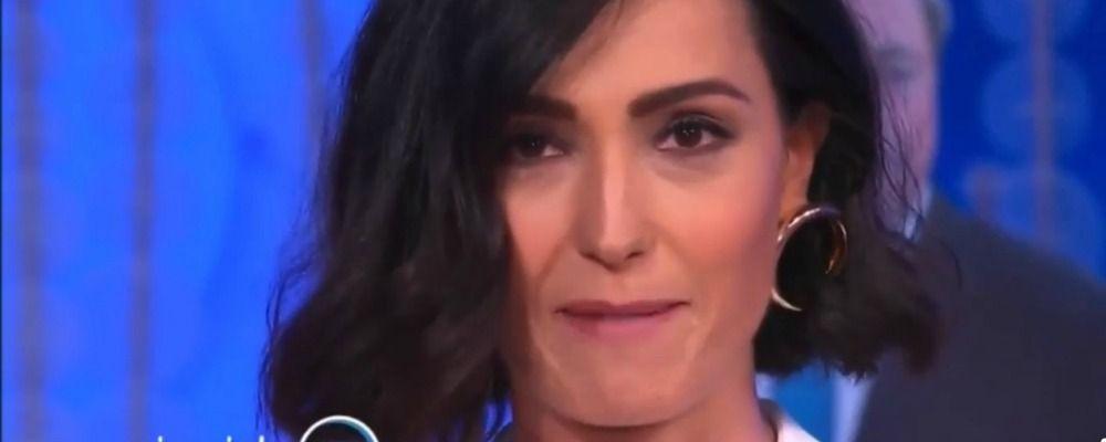 Caterina Balivo torna con Vieni da me, il commovente messaggio in tv