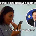 Il Premier ha bisogno di Giulia Salemi, lo scherzo de Le Iene alla bimba di Giuseppe Conte