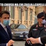 Coronavirus, Le Iene: ecco chi taglia i capelli al premier Giuseppe Conte