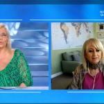 Domenica In, Luciana Littizzetto parla dei figli: Vanessa si commuove, Jordan dorme