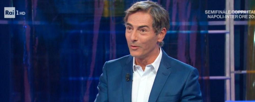 Italia Sì, Marco Liorni all'ospite: 'Riprenditi'