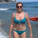 """Simona Ventura, selfie senza ritocchi: """"Pancetta? Sì, ma faccio la mia porca figura"""""""