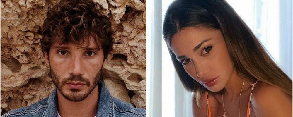 """Belen Rodriguez 'risponde' via social a Stefano De Martino: """"Vieni da me"""""""