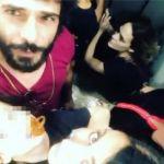 Laura Chiatti brutta avventura in ascensore con Marco Bocci e figli