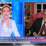 Vittorio Sgarbi e la grande paura in Albania: 'Solo mia figlia Alba mi ha seguito'