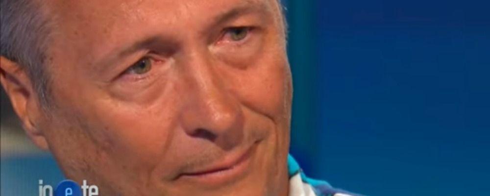 Paolo Belli in lacrime a Io e te: 'La mia carriera era finita'