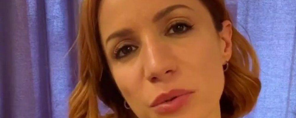 Andrea Delogu: 'Un figlio con Francesco Montanari? Siamo in mano al caso'