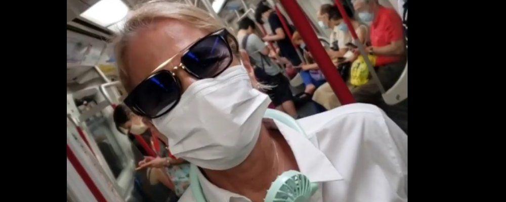 Coronavirus, Heather Parisi avvisa da Hong Kong: 'Preparatevi si torna a dove eravamo'