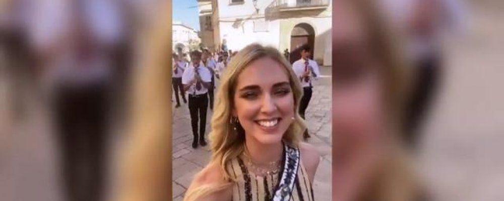 """Chiara Ferragni in Salento: """"Puglia nel cuore forever"""""""
