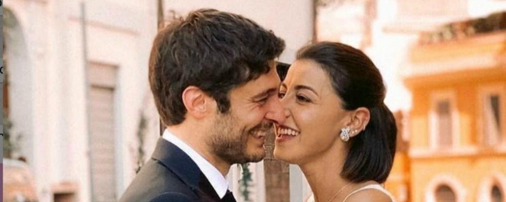 Lino Guanciale e Antonella Liuzzi, festa di nozze a un mese dal matrimonio