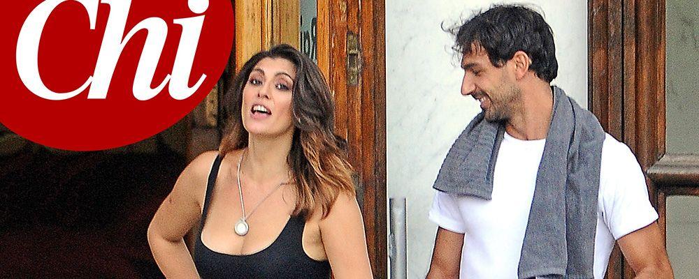 Ballando, è amore tra Elisa Isoardi e Raimondo Todaro: la foto del bacio