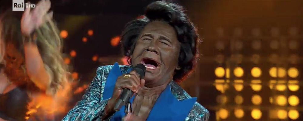 Tale e Quale Show, Francesco Paolantoni nei panni di James Brown. E' subito polemica #blackface