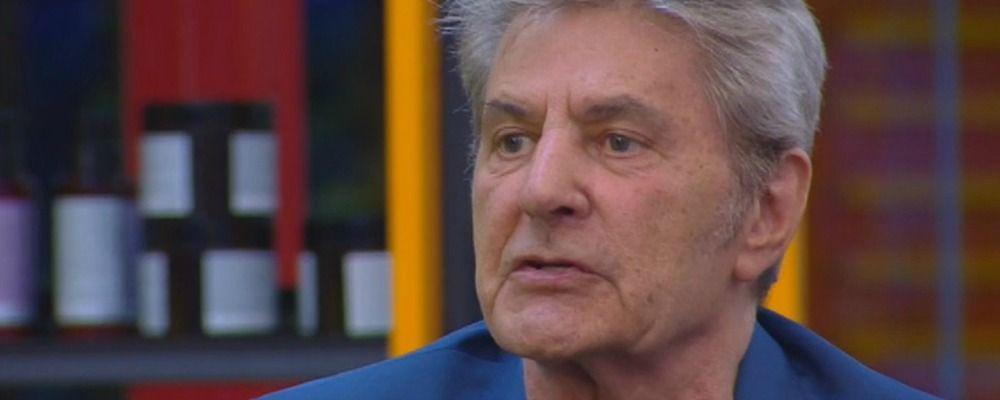 Grande Fratello Vip 5 terza puntata, Fausto Leali squalificato: 'Una battuta del cavolo'